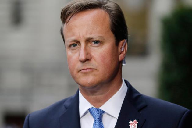 British Prime Minister Says Luis Suarez Set 'Appalling' Example