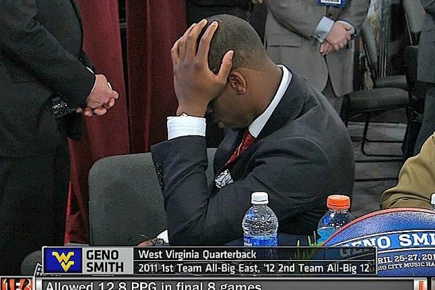 Geno Smith Will Attend the Draft Tonight After All