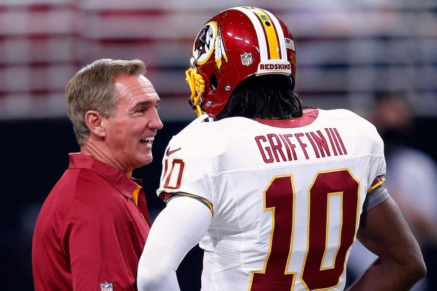 Shanahan: Glad to Have QB Position 'Solved'