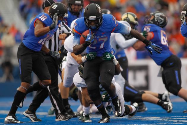 Oklahoma State Inks Football Series with Boise State