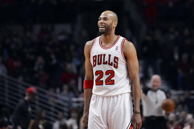 2013 NBA Playoffs: Taj Gibson Makes His Presence Felt with Another Facial