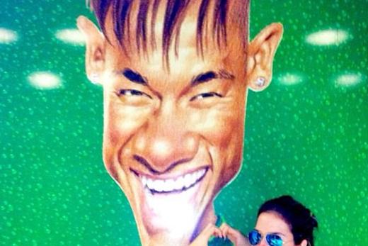 Instagram: Goofy Neymar Portrait