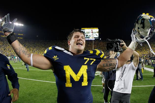 Taylor Lewan Not Regretting Return to Michigan