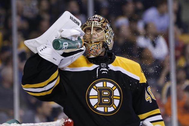 Rask's Consistency Gives B's Hope