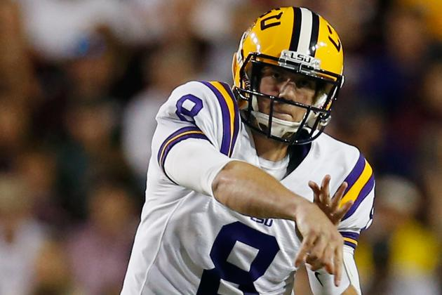 LSU Football: Tigers' Passing Game Must Improve in 2013