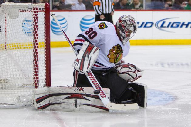 Emery, Bolland Out for Hawks' Final Home Game of Regular Season