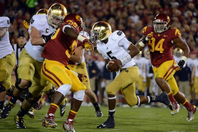 Trojans Will Be Under Lights Again at Notre Dame