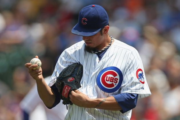 Cubs' Matt Garza Expected to Resume Throwing on Saturday