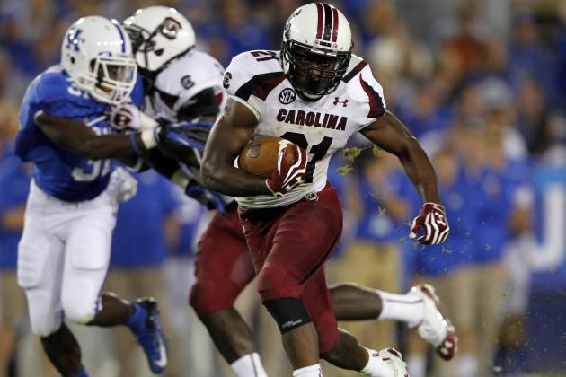 Marcus Lattimore's Upside Makes College Star Intriguing Mid-Round Draft Option