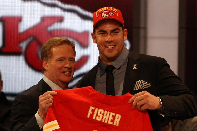 Chiefs' Eric Fisher Introduced To The Media