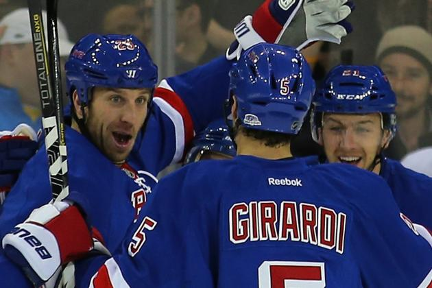 Rick Nash, Derek Stepan Big Reasons for New York Rangers' Success