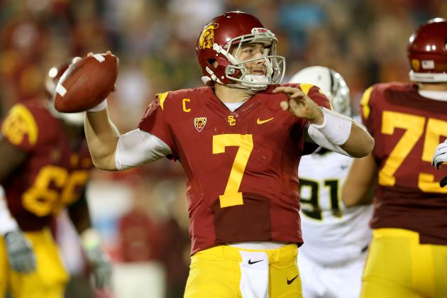 Raiders Rumors: Matt Barkley Would Be High-Upside Selection in Second Round