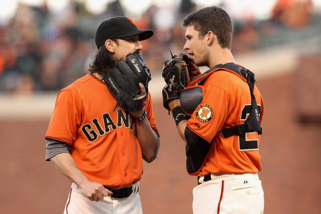 Tim Lincecum and Buster Posey: Batterymates Again