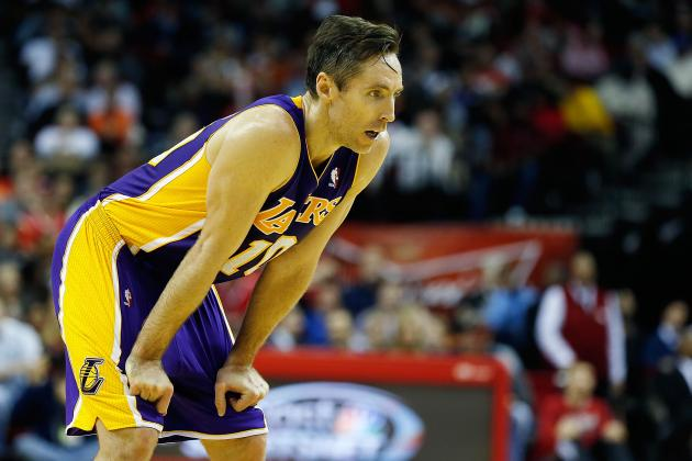 Lakers News: Steve Nash Injury Spells Doom for L.A. vs. San Antonio Spurs