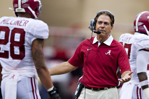 Nick Saban Doesn't Care for the Media's Tone on Milliner, Revis
