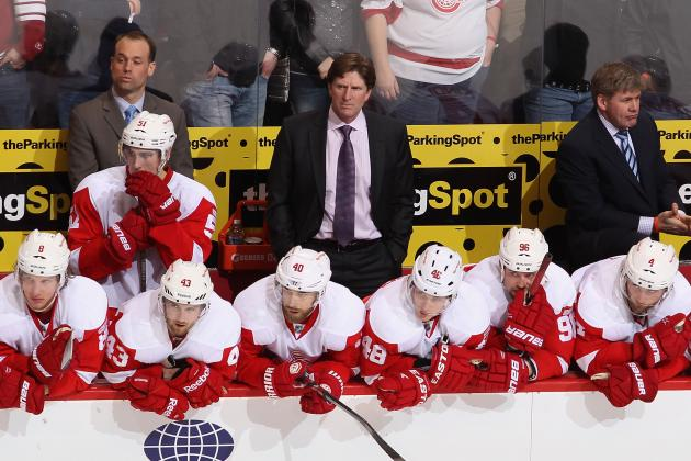 Red Wings Control Their Destiny in Playoff Chase