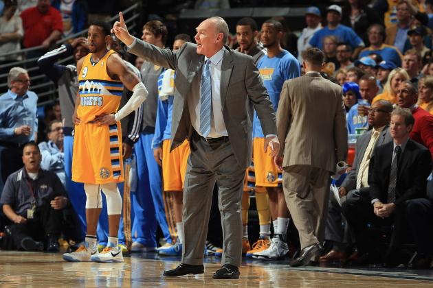 George Karl to Mix Up Nuggets Lineup for Game 3 at Golden State