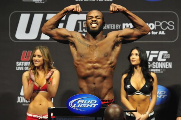 UFC 159: Jon Jones Says Superfight with Anderson Silva Will Happen 'For Sure'