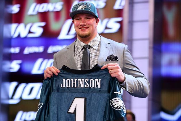 Philadelphia Eagles First-Round Pick Lane Johnson Says He Wrestled Bears