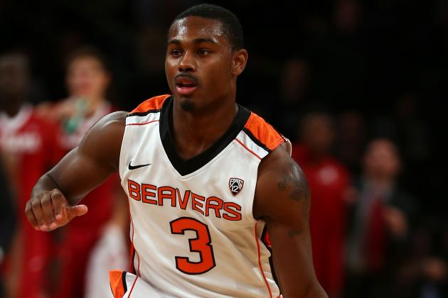 Oregon State Junior Guard Ahmad Starks to Transfer