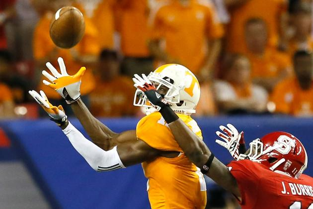 Justin Hunter: How Will Titans' Newest Wide Receiver Fare in the Pros?