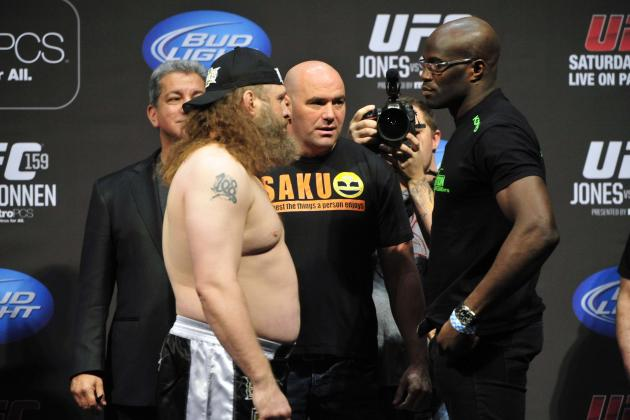 UFC 159: Money Line and Predictions for Entire Fight Card