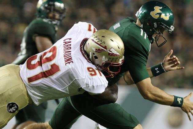 Cornellius Carradine: How Will 49ers' Newest Linebacker Fare in the Pros?