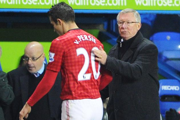 Sir Alex Ferguson Tells Robin Van Persie to Ignore Arsenal Boo-Boys
