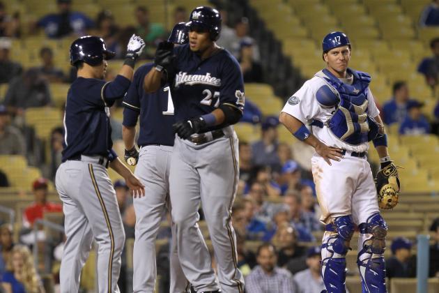 ESPN Gamecast: Brewers vs Dodgers
