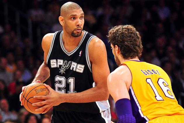 San Antonio Spurs vs. L.A. Lakers: Live Score, Results and Game Highlights