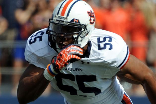 Corey Lemonier Scouting Report: NFL Outlook for Auburn Defensive End