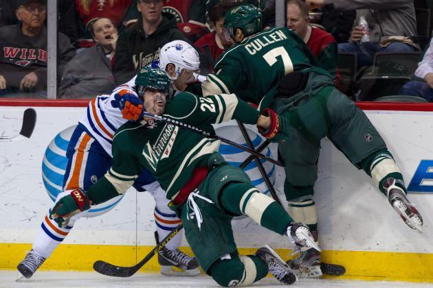 Oilers 6, Wild 1