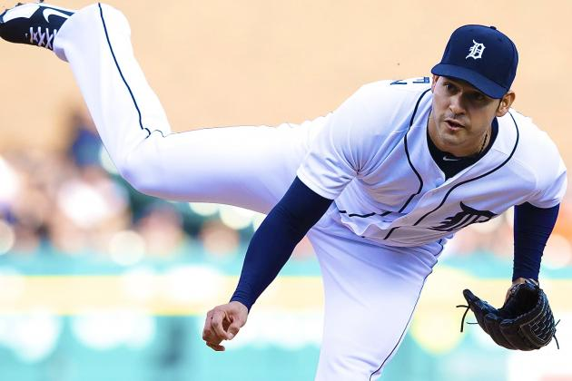 Anibal Sanchez Strikes out 17 Batters to Break Tigers' Record for 9-Inning Game