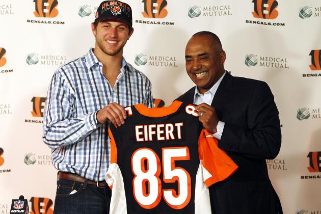 Tyler Eifert to Cincinnati 'the Perfect Scenario'