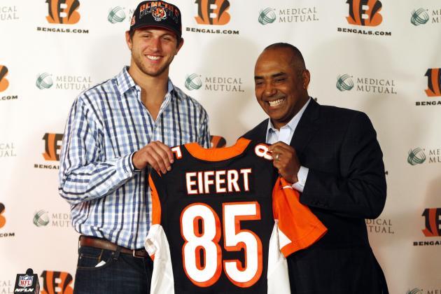 Tyler Eifert to Cincinnati 'the Perfect Scenario'