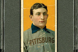New T206 Honus Wagner Card on Auction Block