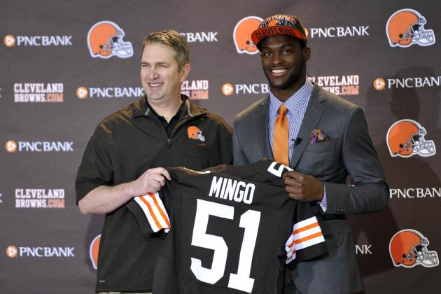 Browns' Pick Mingo Ready to Play