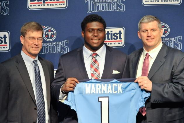 Titans Introduce Chance Warmack to Media