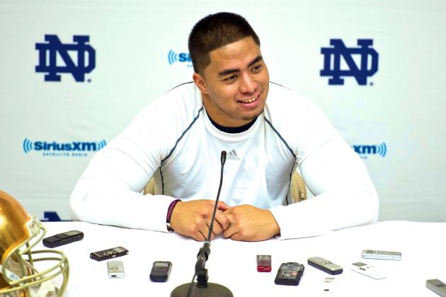 Manti Te'o Thought Call During NFL Draft From Chargers Was Prank by Friends