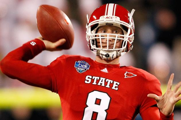 QB Mike Glennon a Good Fit for Bucs in Round Three