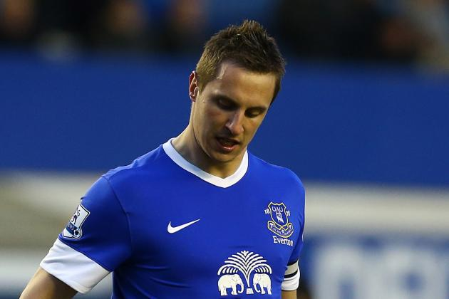 Jagielka Returns to Lineup vs. Fulham