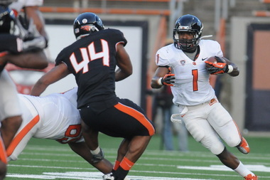 Running Back Chris Brown Steals the Show at Oregon State's Spring Game