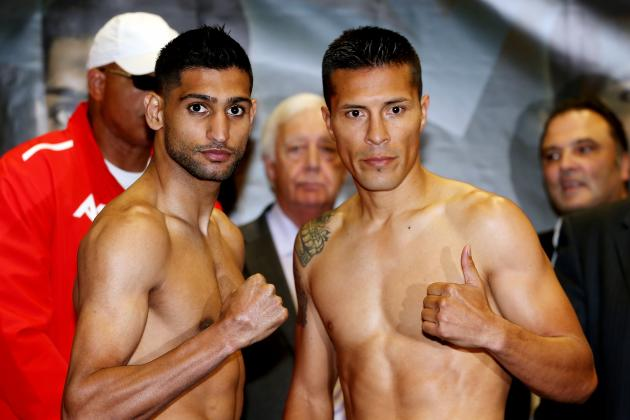 Amir Khan Must Dispatch Julio Diaz to Set Up Run at Floyd Mayweather