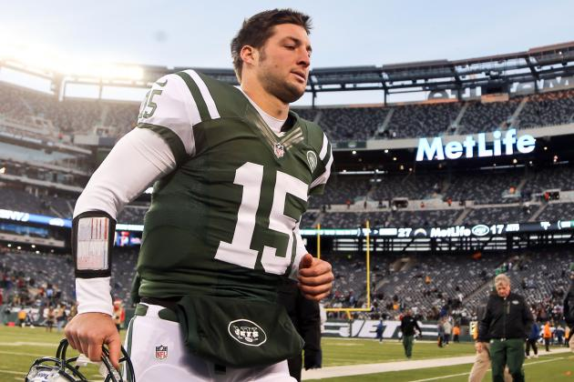 Tim Tebow's Departure from Jets Should Be Imminent After Selection of Geno Smith