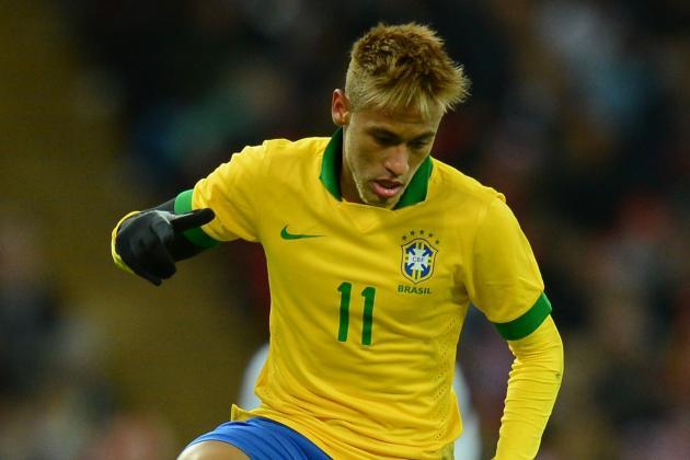 Neymar Won't Sign New Santos Contract