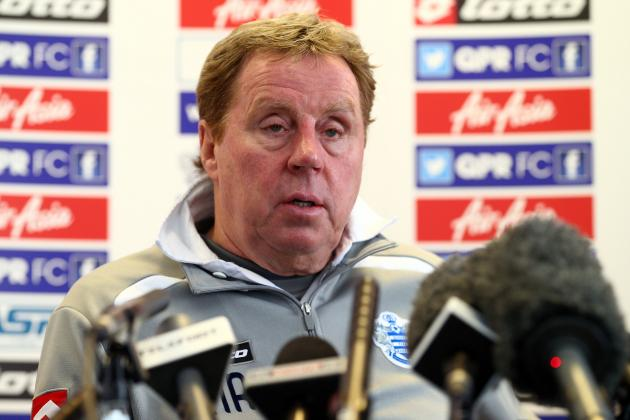 Harry Redknapp Planning for Life in the Championship with QPR