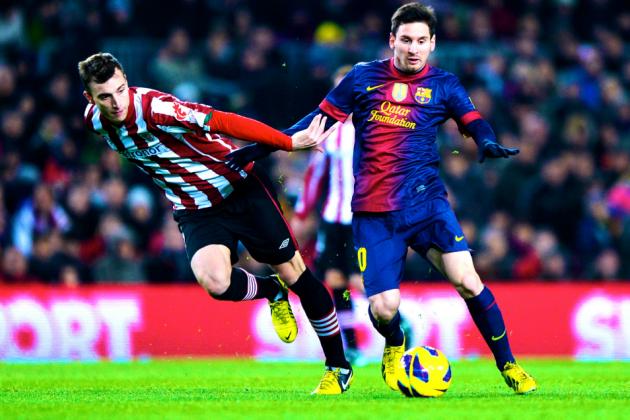 Athletic Bilbao vs. Barcelona: La Liga Live Score from San Mames