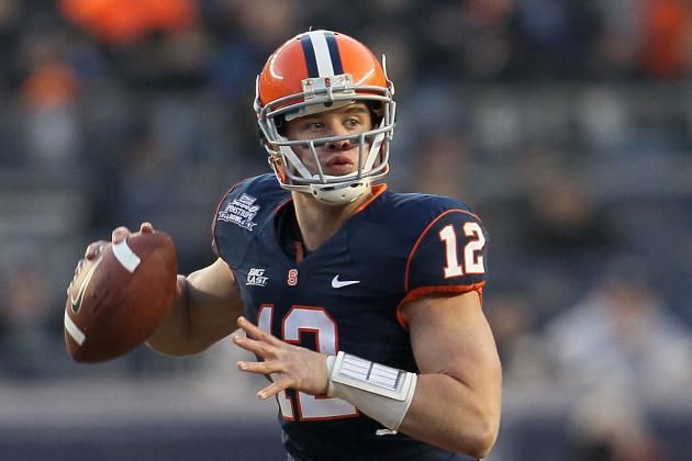 Breaking Down Where Ryan Nassib Fits on Day 3 of 2013 NFL Draft