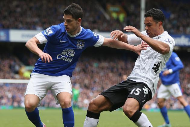 Everton V Fulham: 27th Apr 2013   Report