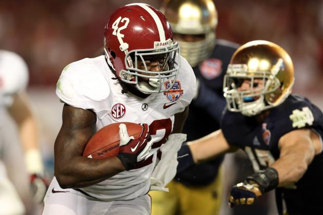 Eddie Lacy in Perfect Situation for NFL Success with Green Bay Packers